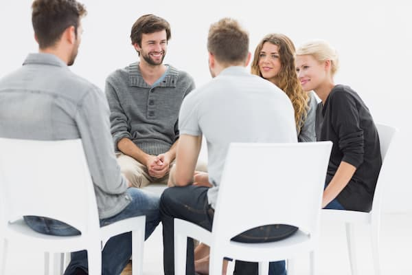 psicoterapia con un grupo